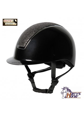 Casque Harry's Horse Regal Sparkle - noir