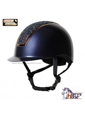 Casque Harry's Horse Regal Sparkle - marine