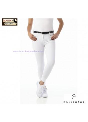 Pantalon EQUITHEME Gizel - blanc