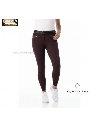 Pantalon EQUITHEME Gizel - rouge foncé