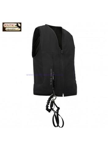 Gilet Airbag PRO SERIES Zipair - noir