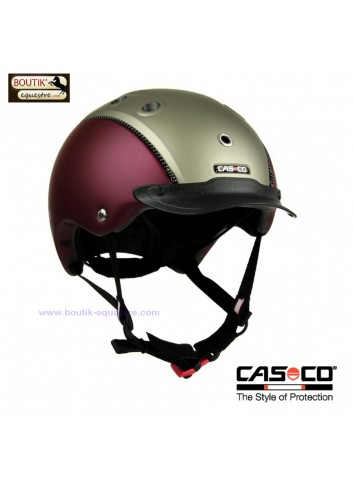 Casque CASCO Choice Turnier - rouge / olive
