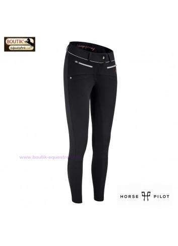 Pantalon Horse Pilot femme - noir