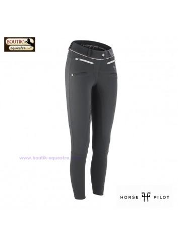 Pantalon Horse Pilot femme - gris