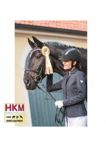 Veste de concours HKM Toskana - noir