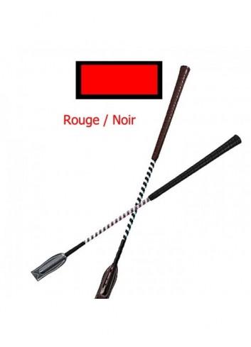 Cravache de concours - rouge / noir