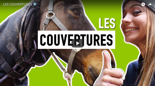 tutorial video choisir couverture cheval